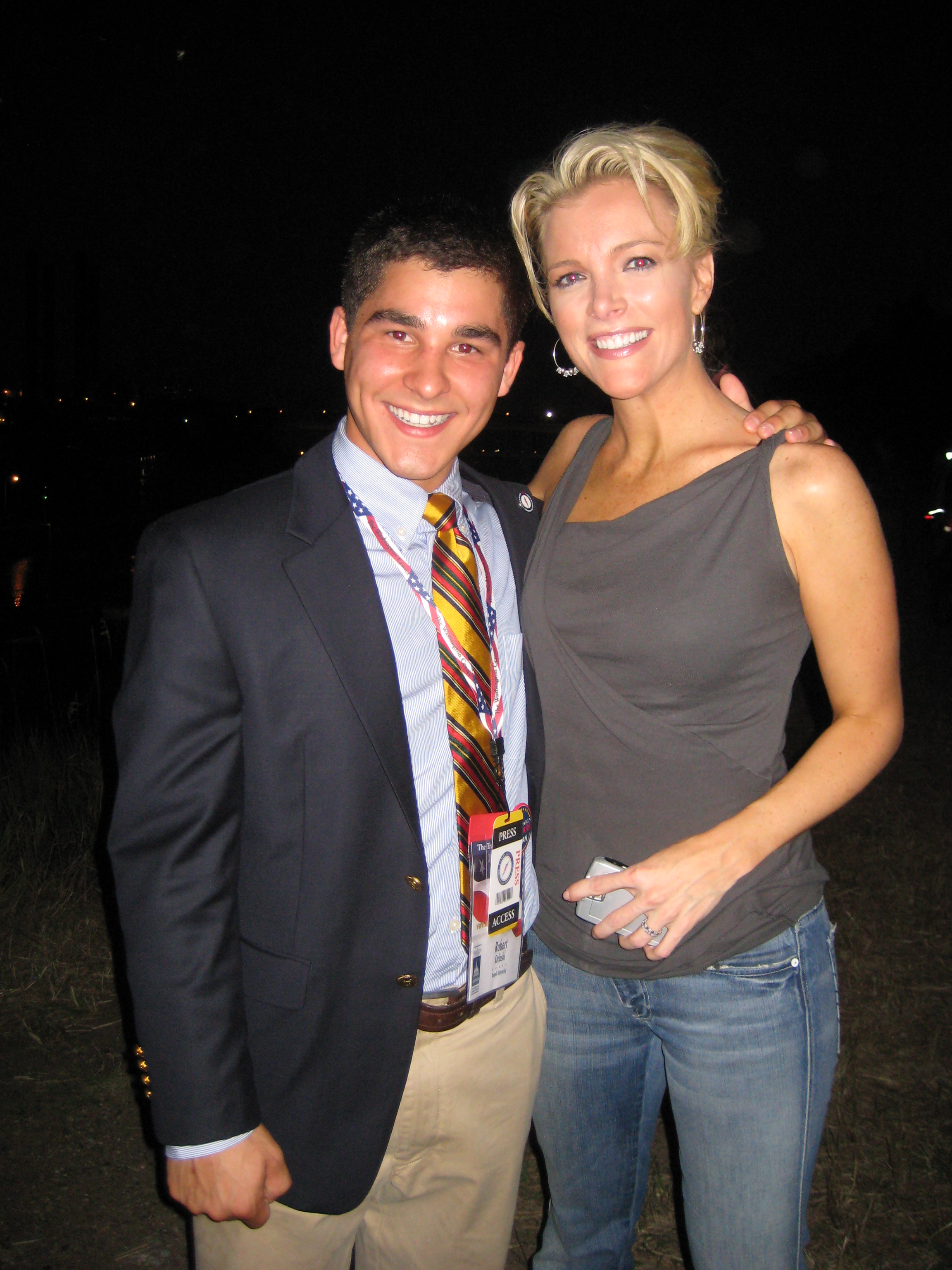 Me with MEGYN KELLY